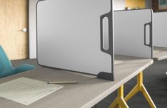 Verb is an integrated collection of classroom furniture including tables, whiteboards, and instructor stations designed to support a full range of teaching and learning styles.