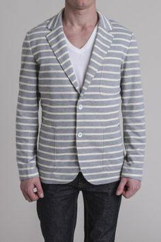 Grey Stripe Blazer
