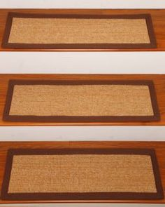 Alexandria Sisal Carpet Stair Tread (Set Of 13)