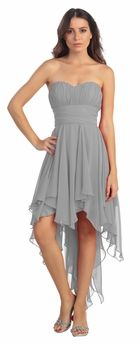 High Low Bridesmaid Dresses Cheap Hi Low Bridesmaid Gowns
