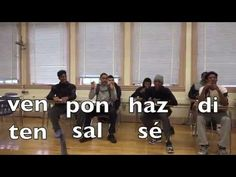Spanish song Informal/Affirmative COMMANDS for irregular verbs - YouTube