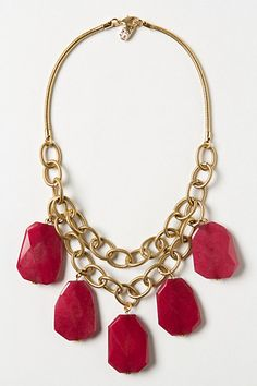 Necklace design - inspired by Anthropologie