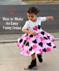 How to make a Simple Twirly Dress