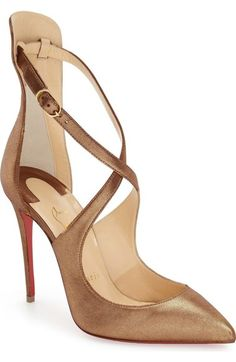Christian Louboutin 'Marlena Rock' Pointy Toe Pump available at #Nordstrom