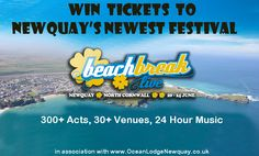 Win Tickets, North Cornwall, Newquay, New Music, Competition, Acting, Live, News