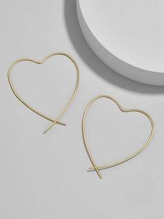 BaubleBar Corazon Everyday Fine Earrings