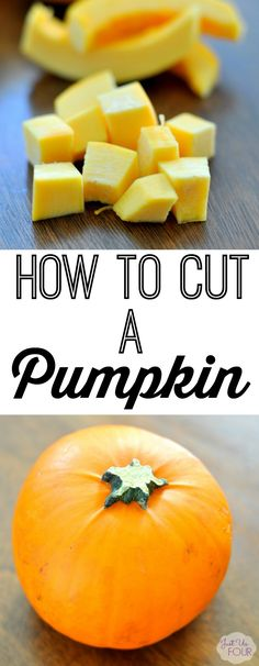 Go beyond puree and learn how to cut a pumpkin for all kinds of recipes.