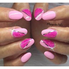 Pink Nails  by MargaritasNailz from Nail Art Gallery