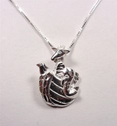 STERLING SILVER HOLY BIBLE NOAH'S ARK ANIMAL BOAT SUNDAY SCHOOL PENDANT NECKLACE in Jewelry & Watches, Fine Jewelry, Fine Necklaces & Pendants | eBay