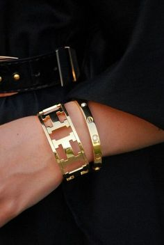 Hermes + Cartier Girls best friend next to diamonds yesss