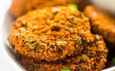 <p>These spicy patties have an addictively crunchy quinoa outside and a soft and tender cauliflower and white bean inside. Buffalo sauce gives it a powerful kick of heat that's instantly cooled by the creamy avocado dip. </p>