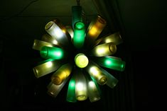 20 Ideas of How to Recycle Wine Bottles Wisely - Wine Lamp #recycle #wine bottles