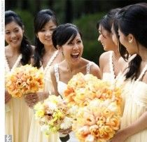 Mellow Yellow Wedding Color Palettes - Summer/Fall (add in orange for Fall)