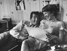 Dean Martin y Shirley MacLaine