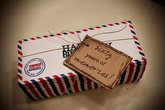 / Contact his/her closest family and friends and have them write a memory they've had together. Put each of them in an envelope to equal the amount of years they are turning /