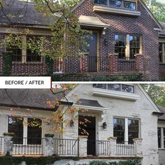 Nube Gray Limewash Interior / Exterior Paint – The Home Depot Source by chasitybagsby Exterior House Colors, Exterior Design, Interior And Exterior, Houses With Stone Exterior, 1930s House Exterior, Modern Brick House, Exterior Paint Schemes, Home Exterior Makeover, Exterior Remodel
