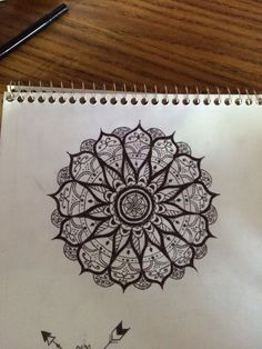 My own free hand drawing - definitely also a competitor to my next tattoo goal