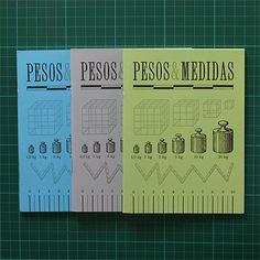 Caderno Serrote Pesos & Medidas