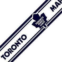 NHL Toronto Maple Leafs Hockey Prepasted Wall Border Roll