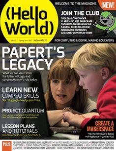 frambuesa-pi: Hello World, la nueva publicación oficial de Raspberry Pi para el profesorado ...
