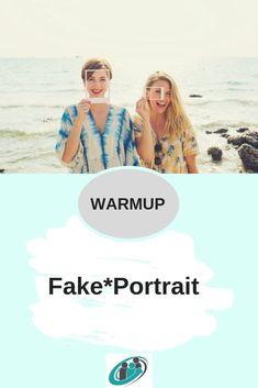 Das Fake*Portrait ist eine sehr effiziente Methode, sich zu Beginn eines Workshops kennen zu lernen _________________________________________________ #tools #toolbox #workshops #warmup #moderation #coaching #coach #berater #seminar #methode #methodenkoffer Pinterest Profile, Workshop, Portrait, Coaching, Box, Movies, Movie Posters, Getting To Know, Counseling