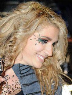 DIY Halloween Makeup : Celebrity Inspired Halloween Makeup Ideas