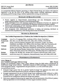 find this pin and more on resume samples software engineer - Software Developer Resume Template