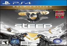 This is Steep: Gold Edition on the PS4. Steep is a snow sports game with style! Playing Steep, you'll ride your own way and conquer the world's biggest mountains on skis, snowboards, wingsuits & paragliders.<br /><br /> The powder is always fresh