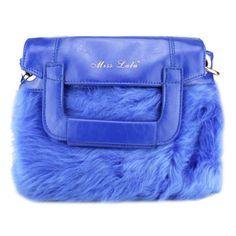 Blue Fax Fur £5.99