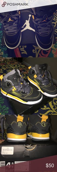 """Spike-lees"" Jordans Spizike in excellent condition worn twice no scuffs no scratches comes with original box size 4-1/2 Jordan Shoes Sneakers"
