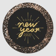 New Year's Eve Wallpaper, Happy New Year Wallpaper, Happy New Year Design, New Year Designs, Happy New Year Stickers, Happy New Year Pictures, Gold Glitter Background, New Year's Cake, New Year's Crafts