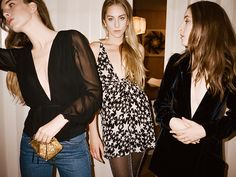 What You Should Wear on NYE, According to Reformation and Haim via @WhoWhatWearUK