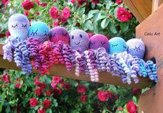 Calu Art: Wielka misja Crocheting, Crochet Hats, Crochet, Knitting Hats, Knits, Lace Knitting, Quilts, Chrochet, Knitting Stitches