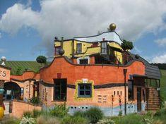 hundertwasser architecture maison an allemagne