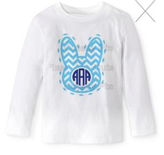 Boy / Girl monogram easter shirt / monogram by smiplysouthernvinyl