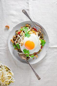 vegetarian nasi goreng recipe   curatedlifestudio.com