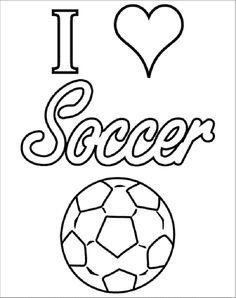 Soccer coloring pages 13 Soccer Ideas Pinterest School