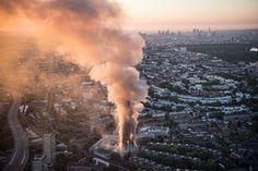 Tower block blaze in London – in pictures | UK news | The Guardian