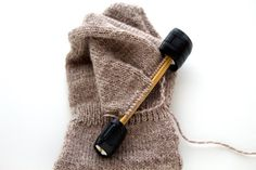 Keep your knitting and crochet projects safe on your needles with the Ewe Clip!