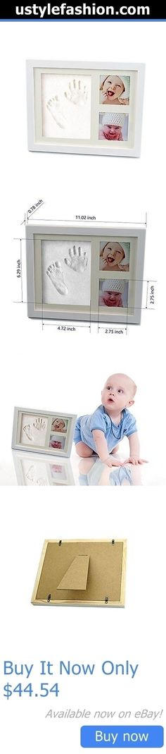 Handprint Kits: Baby Handprint And Footprint Safe Clay Environmental And Non-Toxic ,Wood Picture BUY IT NOW ONLY: $44.54 #ustylefashionHandprintKits OR #ustylefashion
