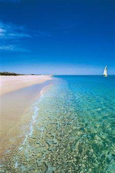 Spiaggia Mandra 'e Pische (Siniscola) - Vista da sud