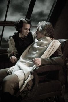 Alan Rickman and Johnny Depp - Sweeney Todd