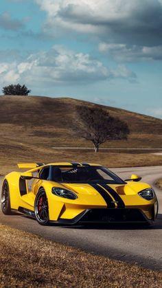 My Dream Car, Dream Cars, Car Backgrounds, Street Racing Cars, Super Sport Cars, Pretty Cars, Ford Gt40, American Motors, Fancy Cars