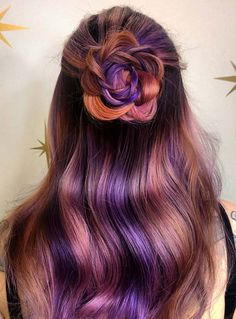 Pastel and Neon Hair Colors in Balayage and Ombre: Purple Hair  #RePin by Dostinja - WTF IS FASHION featuring my thoughts, inspirations & personal style -> http://www.wtfisfashion.com/