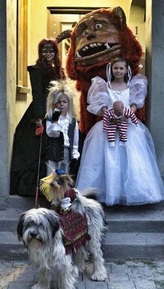 The Perfect Family Labyrinth Costume - PicSauce