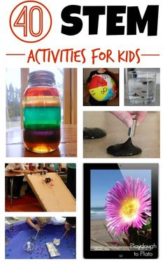 40 STEM Activities for Kids - Playdough To Plato