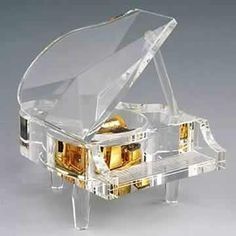 Crystal Music Boxes