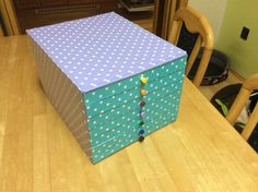 box for quilling material
