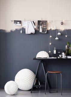 12 fina anledningar att haka på trenden med halvmålade väggar