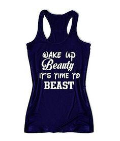 Amountfit Women Workout Fitness Gym Tank Top Medium Wake Up Beauty It's Time to Beast  https://www.amountfit.com/products/wake-up-beauty-its-time-to-beast-womens-fitness-tank-top-x1571